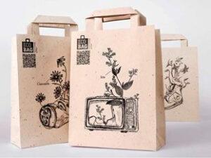 Производство бумажных пакетов в Алматы