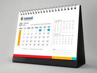 Настольный календарь домик в Алматы