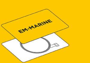 Бесконтактная карта em marine в Алматы