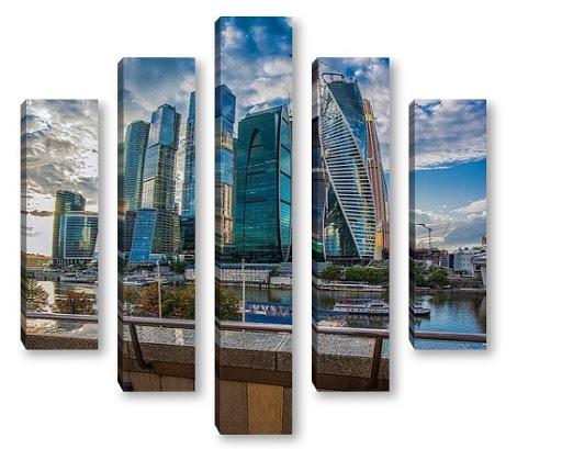 Модульная картина Алматы
